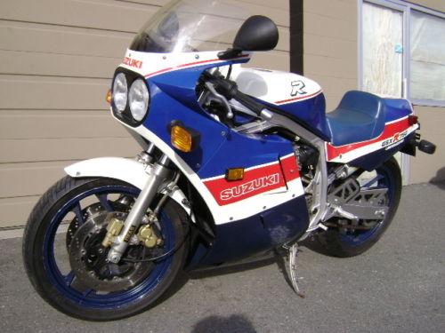 1986 Suzuki GSXR 750 Limited Edition – Bike-urious