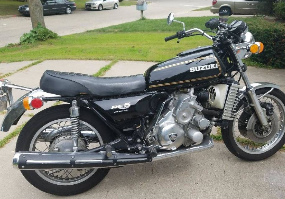 Rotary Engine – 1976 Suzuki RE-5 – Bike-urious