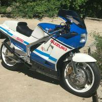CA Plated - 1986 Suzuki RG500 Gamma
