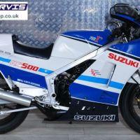 Zero Miles in England - 1986 Suzuki RG500