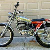 Cosmetic Restoration - 1974 Suzuki RL250 Exacta