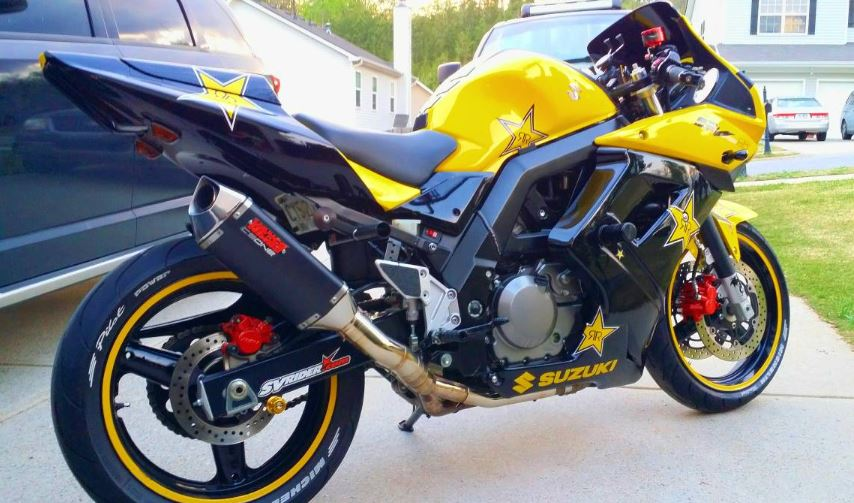 Up-Specced and Fullly-Faired – 2005 Suzuki SV650