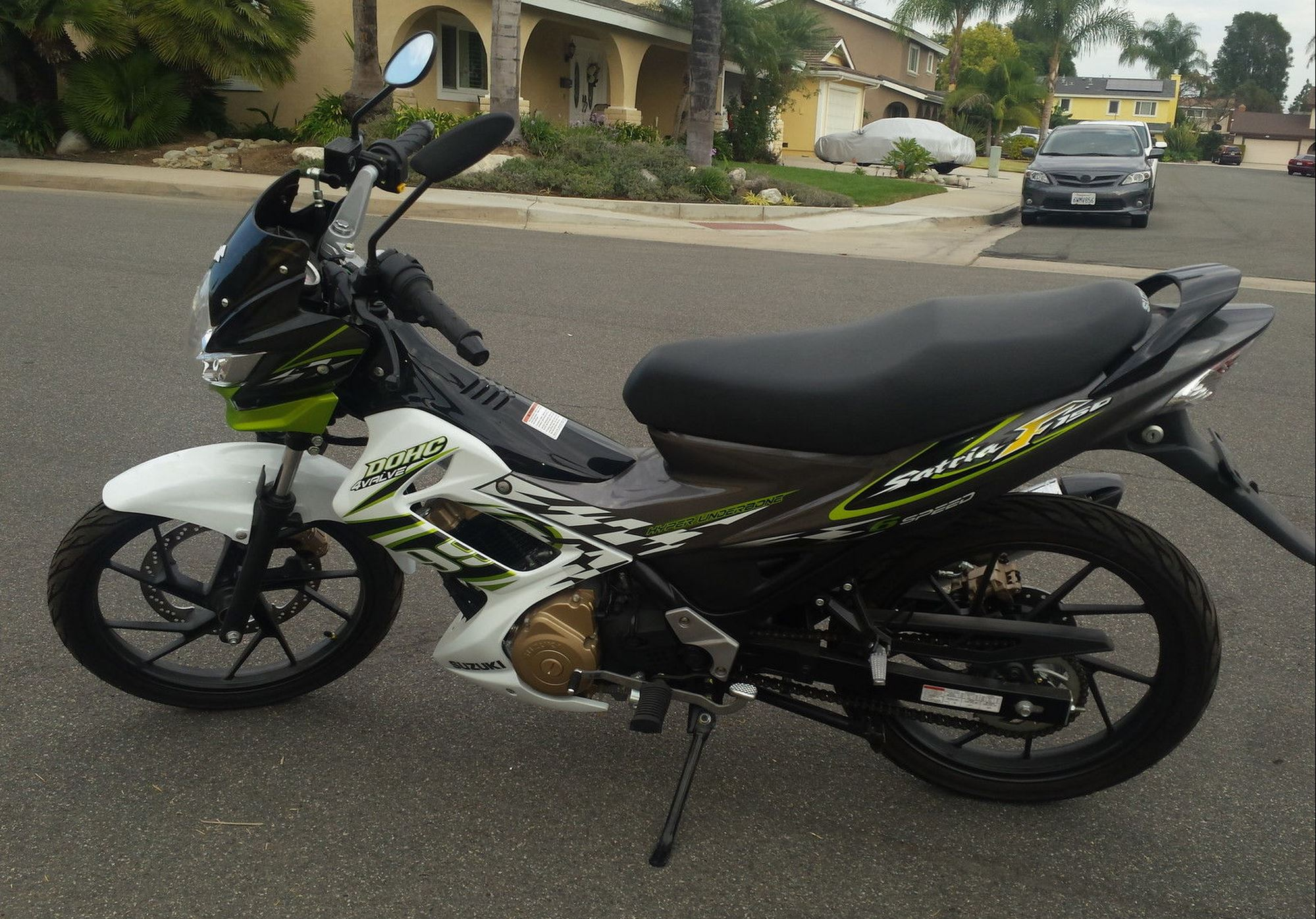 Suzuki Satria F150 Left Side Bike Urious All New