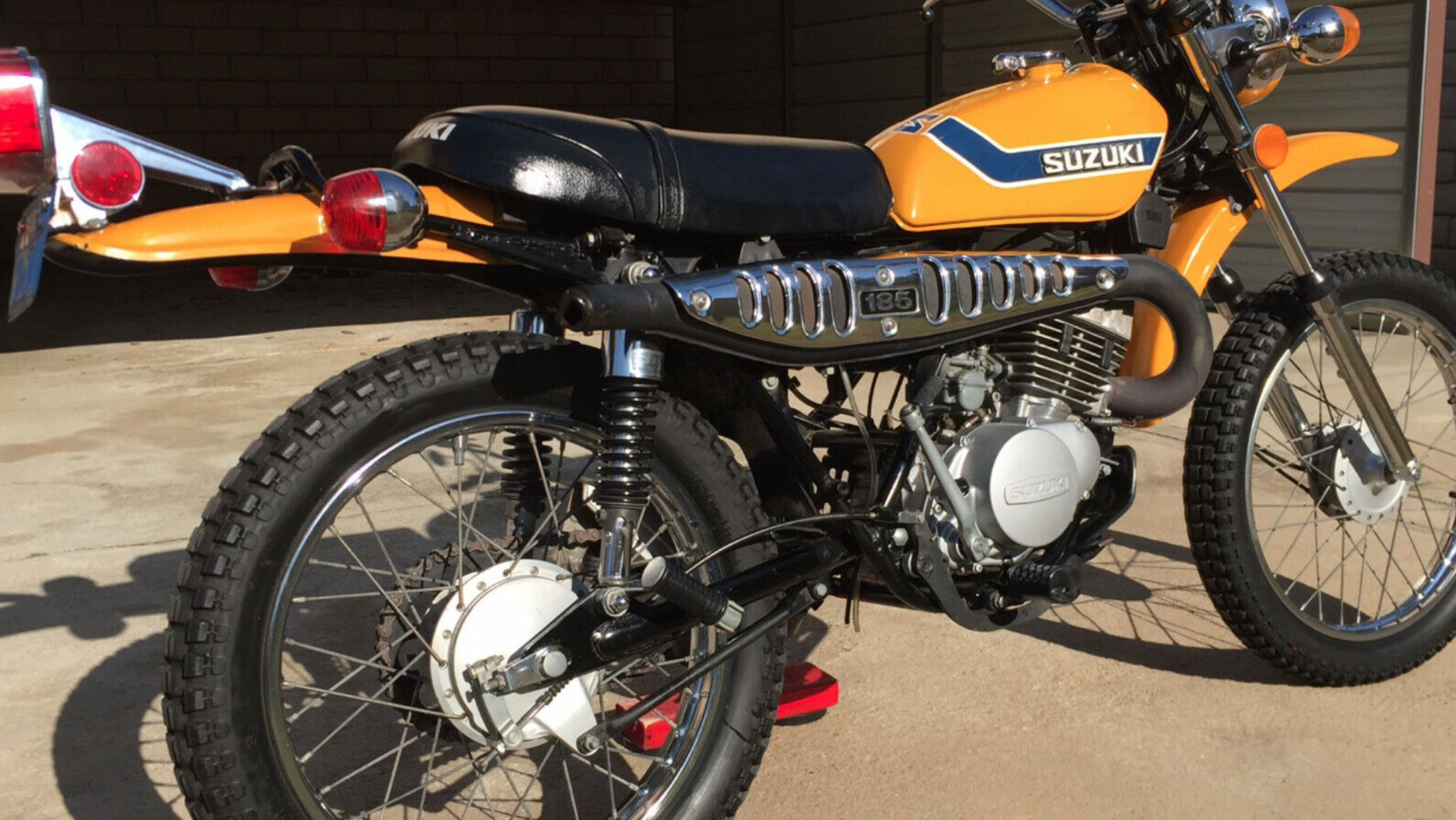 1973 Suzuki TS185 – Bike-urious