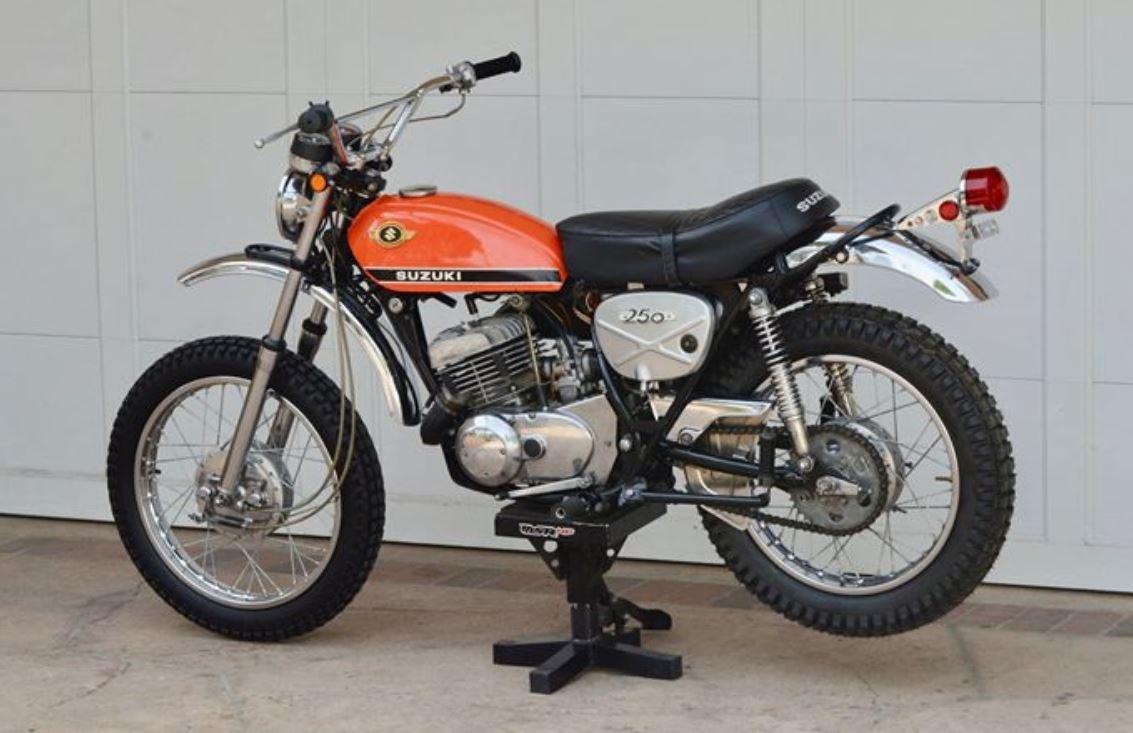 1969 and 1970 Suzuki TS250 Savage