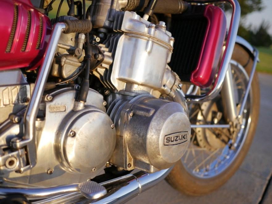 Suzuki Water Buffalo - Engine