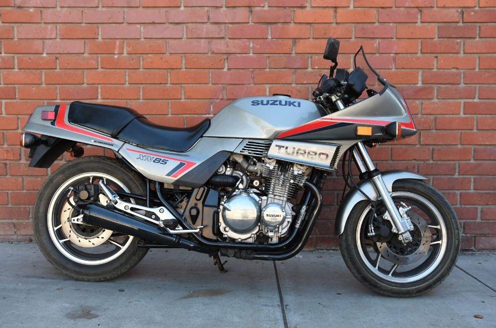 One Owner 1983 Suzuki Xn85 Turbo Bike Urious