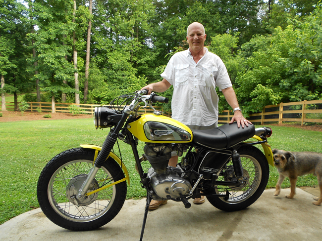 Ted Clough - Restored 1969 Ducati Scrambler