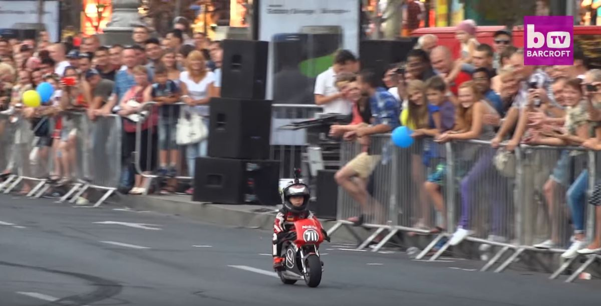 Video Intermission - 4 Year Old Motorcyclist