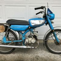 Rare Project - 1964 Tohatsu Runpet Sport 50