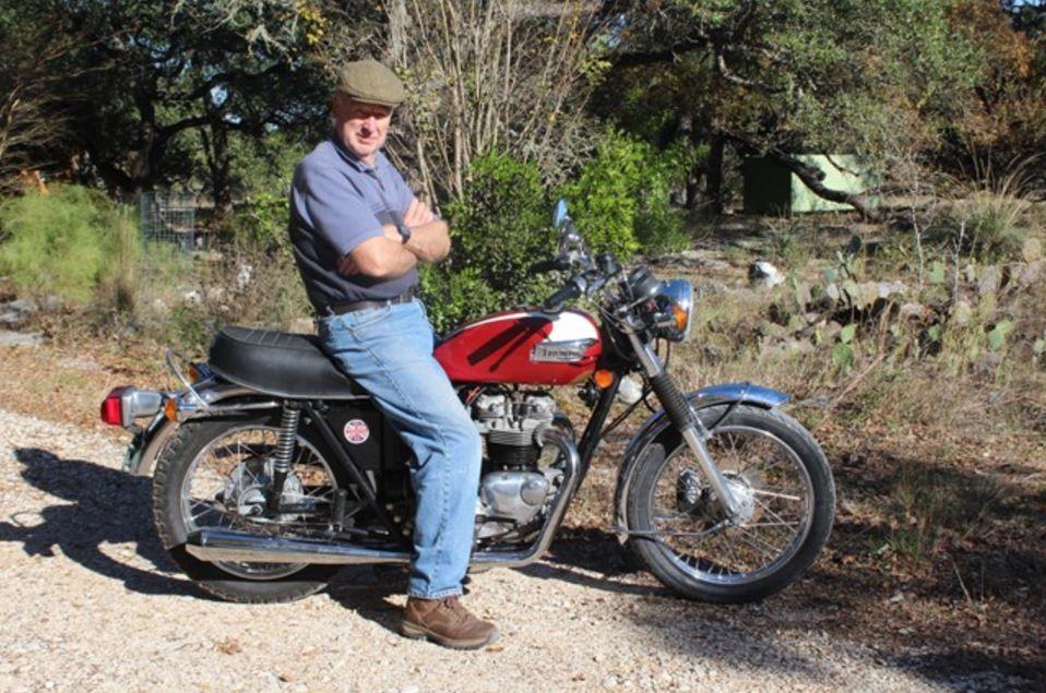 Ready to Ride - 1974 Triumph Bonneville T140V