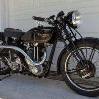 Needs Some Work - 1935 Triumph Model 3