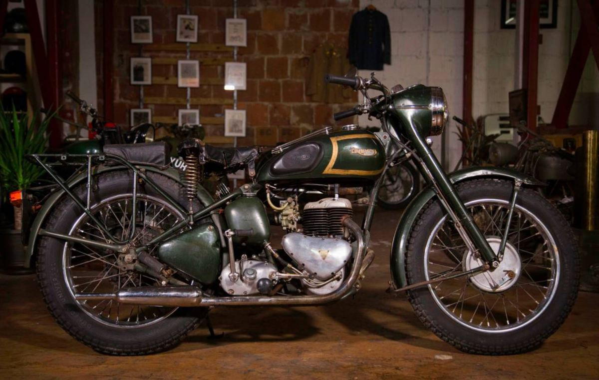 British Military Side-Valve - 1956 Triumph TRW