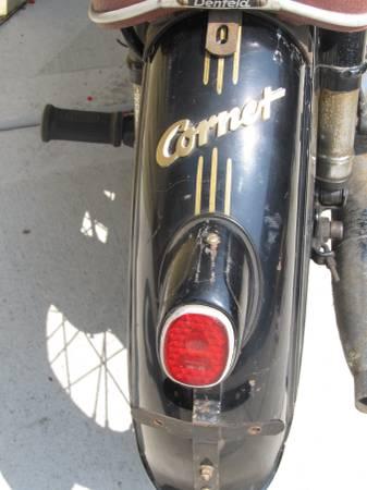 Triumph TWN Cornet - Rear