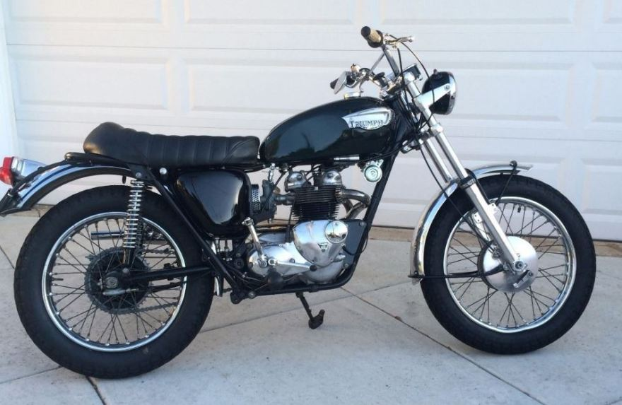 Star of Stage and Screen – 1966 Triumph Tiger T100