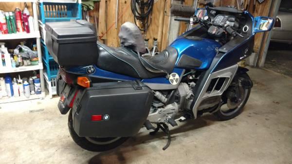 turbo tourer 1985 bmw k100rt bike urious. Black Bedroom Furniture Sets. Home Design Ideas