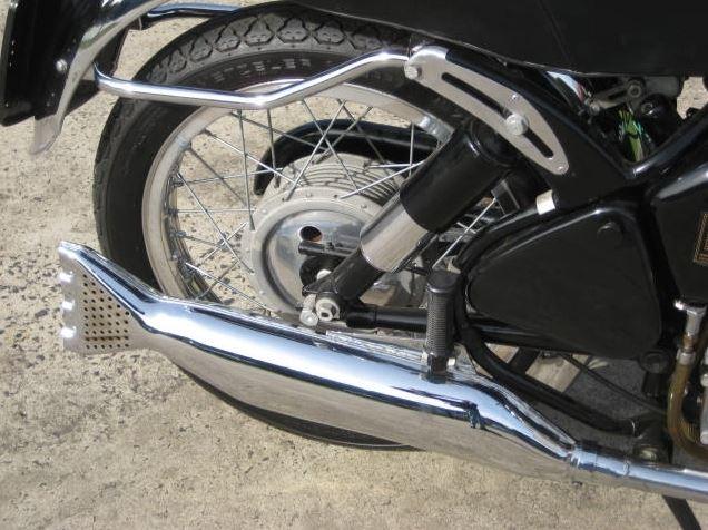 Velocette Viper - Exhaust