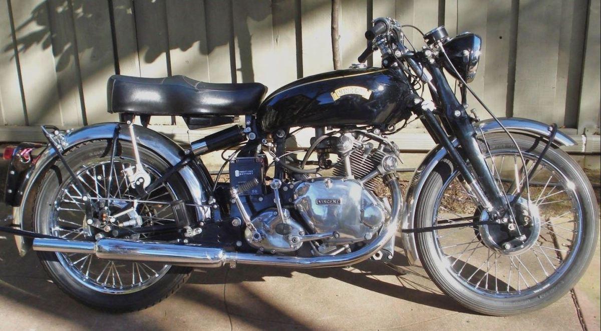 1952 Vincent Comet Series C