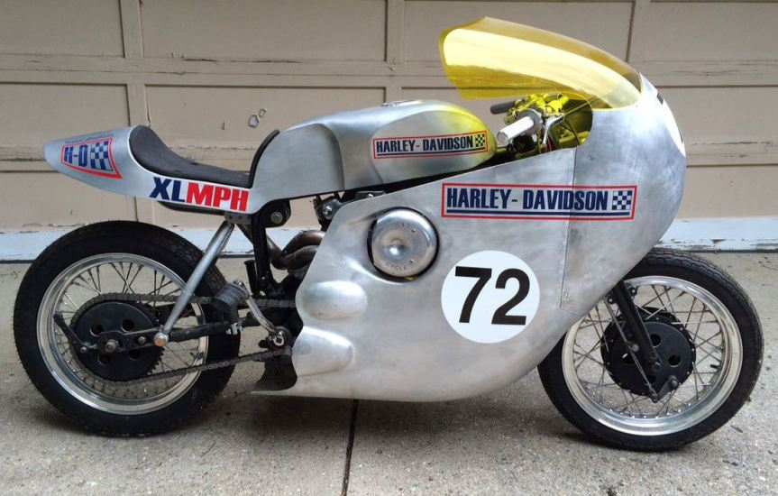 Vintage Racer 1972 Harley Davidson Sportster Bike Urious Pictures