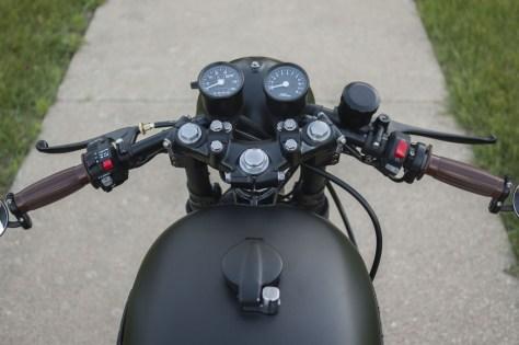 Wabi-Sabi - Honda CB750K Custom Cafe Racer - Cockpit