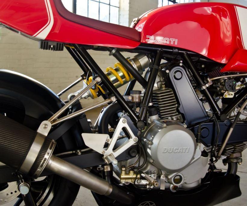 Walt Siegel Ducati Leggero Toronto - Engine