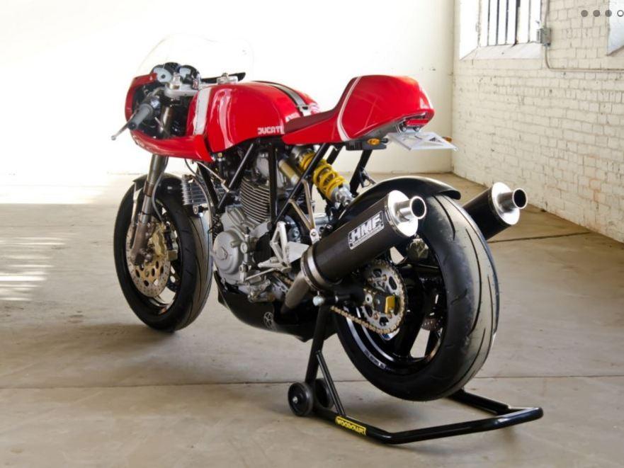 Walt Siegel Ducati Leggero Toronto - Rear Left