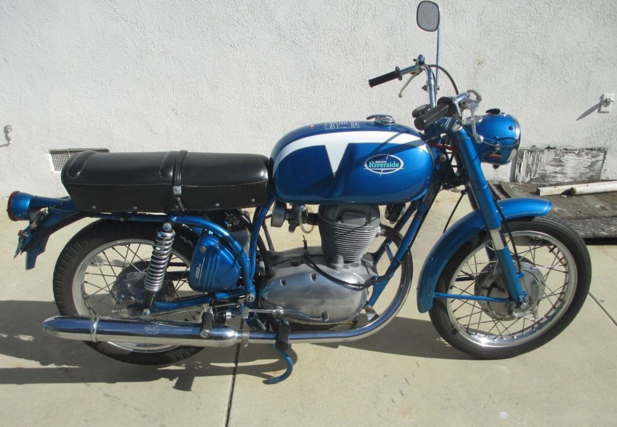 1967 Wards Riverside 250 Benelli