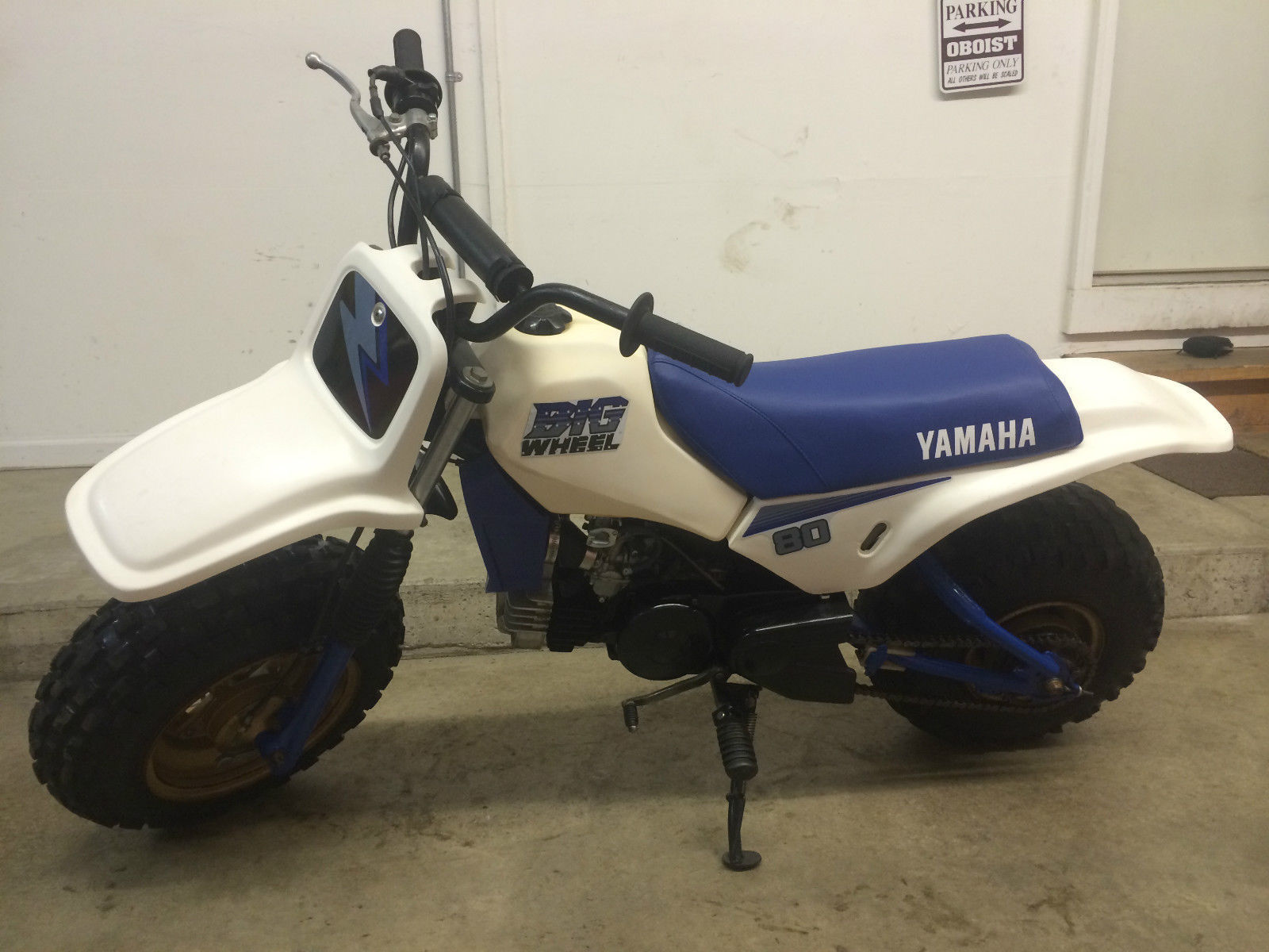 1986 Yamaha Big Wheel BW80 – Bike-urious