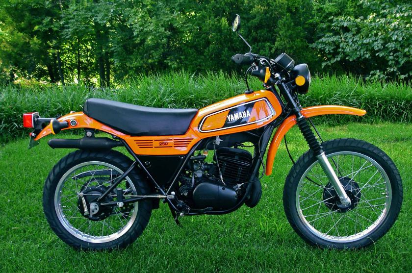 Show condition 1978 yamaha dt250 bike urious for Yamaha dt 250 for sale