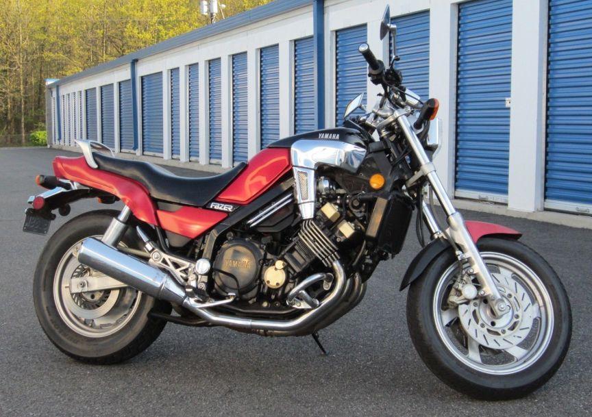 1986 Yamaha Fazer FZX700 – Bike-urious