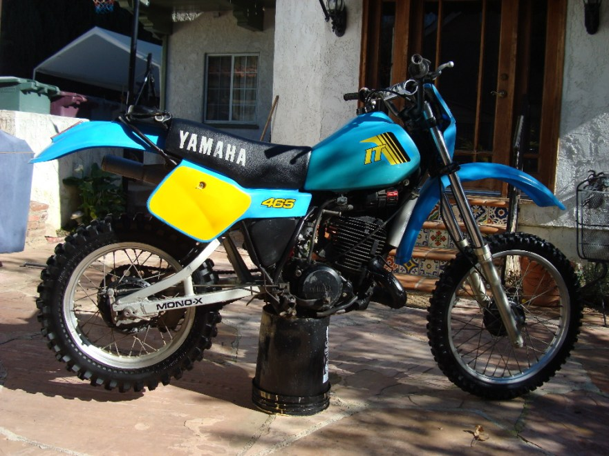 Yamaha IT465 - Right Side