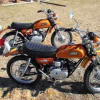 Two Of A Kind - 1972 Yamaha JT2
