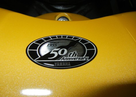 Yamaha R1 Limited Edition - 50th Anniverary Logo