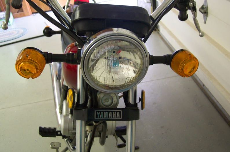 Yamaha RX50 - Front