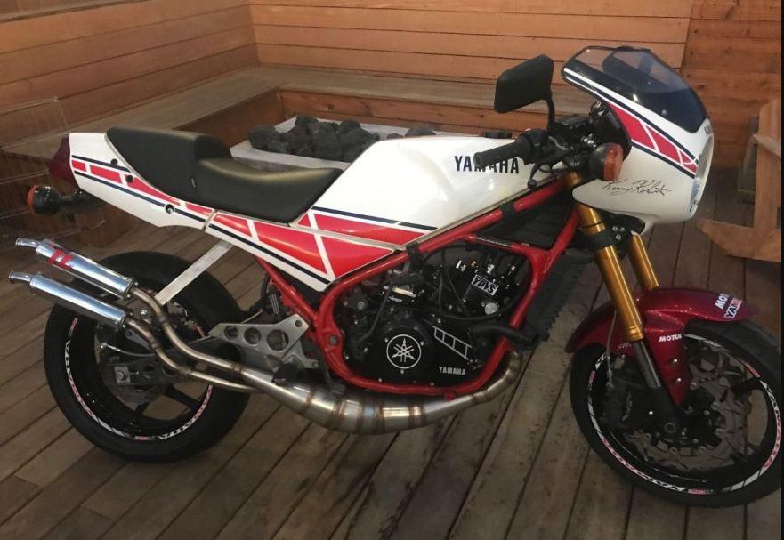 392cc – 1985 Yamaha RZ350 Custom – Bike-urious