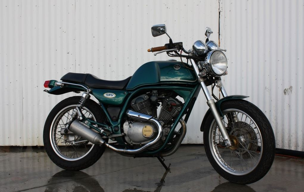 Rare in the US – 1992 Yamaha SRV250 | Bike-urious