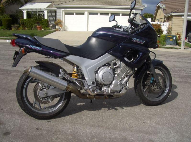 1993 yamaha tdm 850 bike urious. Black Bedroom Furniture Sets. Home Design Ideas