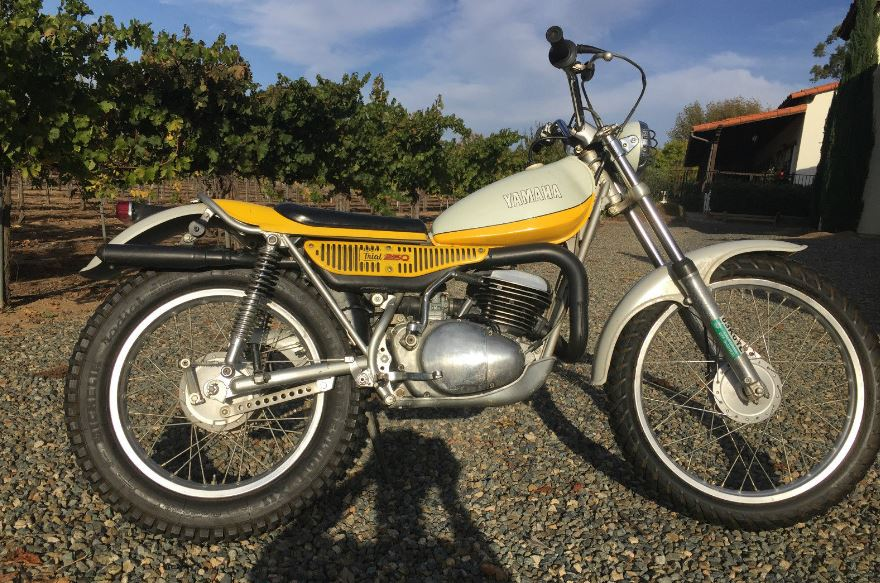 another revolution heard from 1974 yamaha ty250 bike. Black Bedroom Furniture Sets. Home Design Ideas