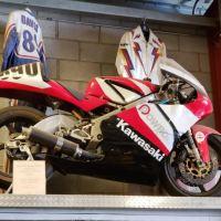 """TZ450"" - Yamaha TZ250 Frame with Kawasaki KX450F Engine"