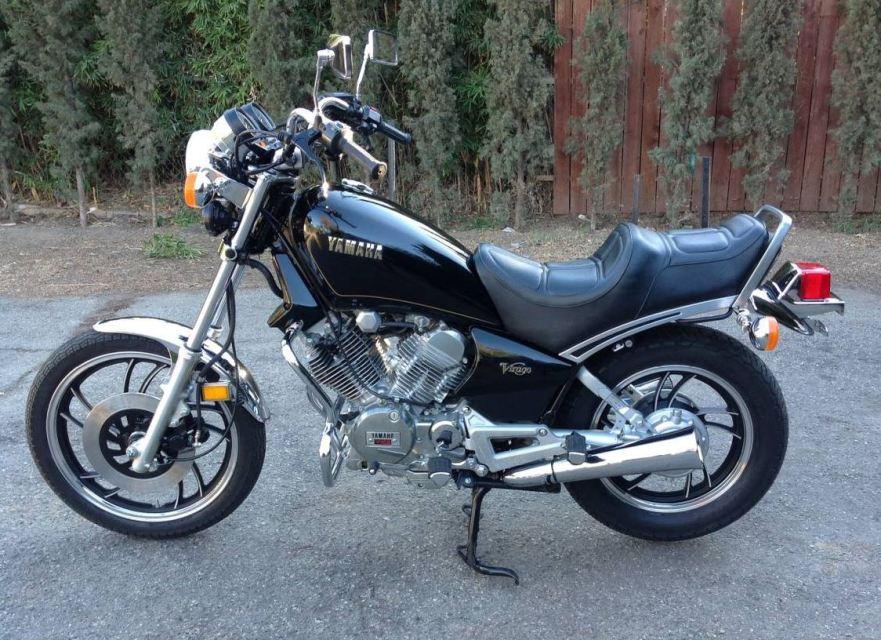 5 miles 1983 yamaha virago xv500 bike urious