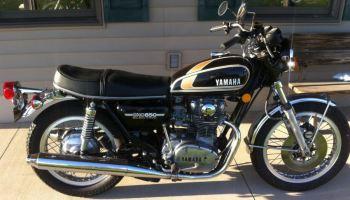 1975 yamaha xs650 bike urious
