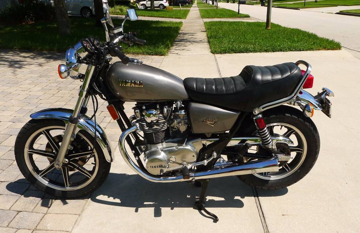 Stored Since 1986 - 1981 Yamaha XS650 Special