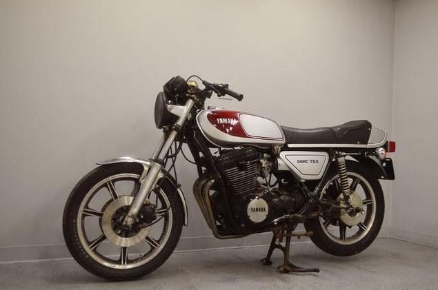 Yamaha XS750E - Front Left