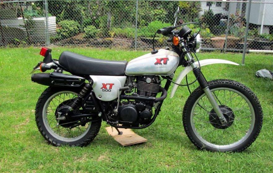 The wheel stand king history of the yamaha xt500 bike for Yamaha xt500 motorcycle