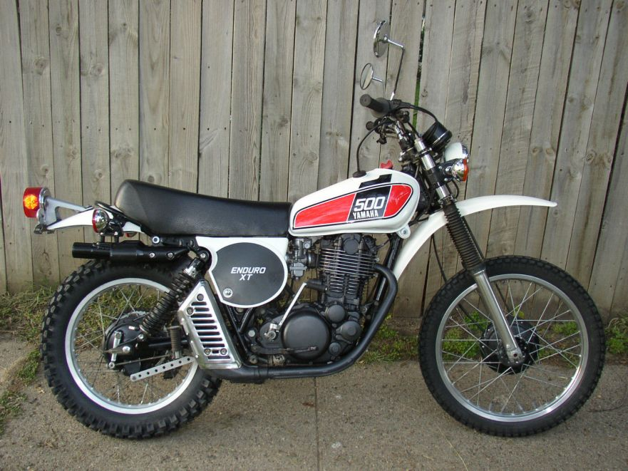 1976 yamaha xt500 bike urious for Yamaha xt500 motorcycle