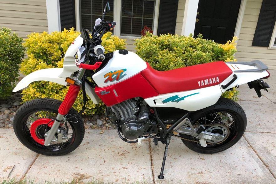 Ending Soon 1991 Yamaha Xt600e Supermoto Bike Urious