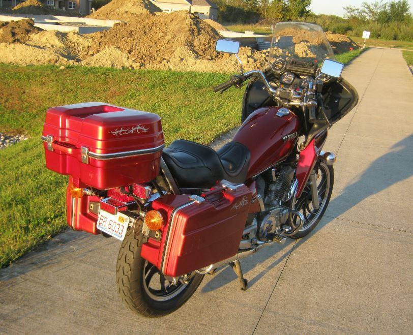 Rare Fairing  U2013 1983 Yamaha Xv500 Virago
