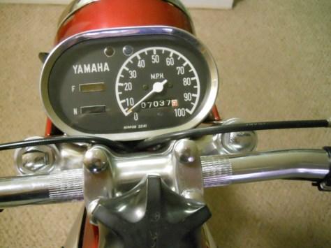 Yamaha YCS-1 180 Bonanza - Gauges