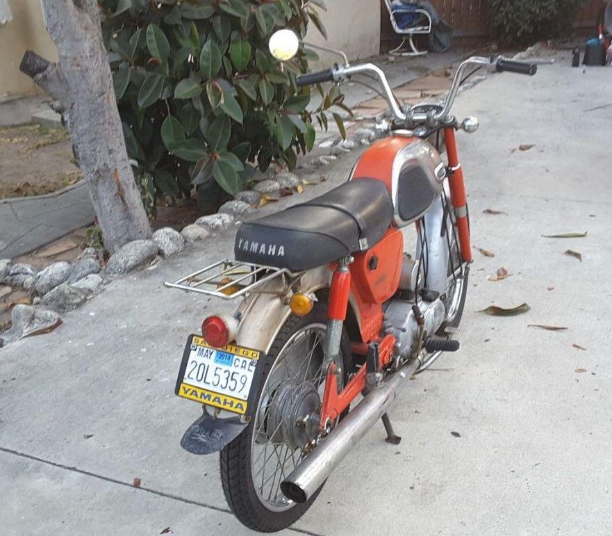 Yamaha YG1 - Rear Right