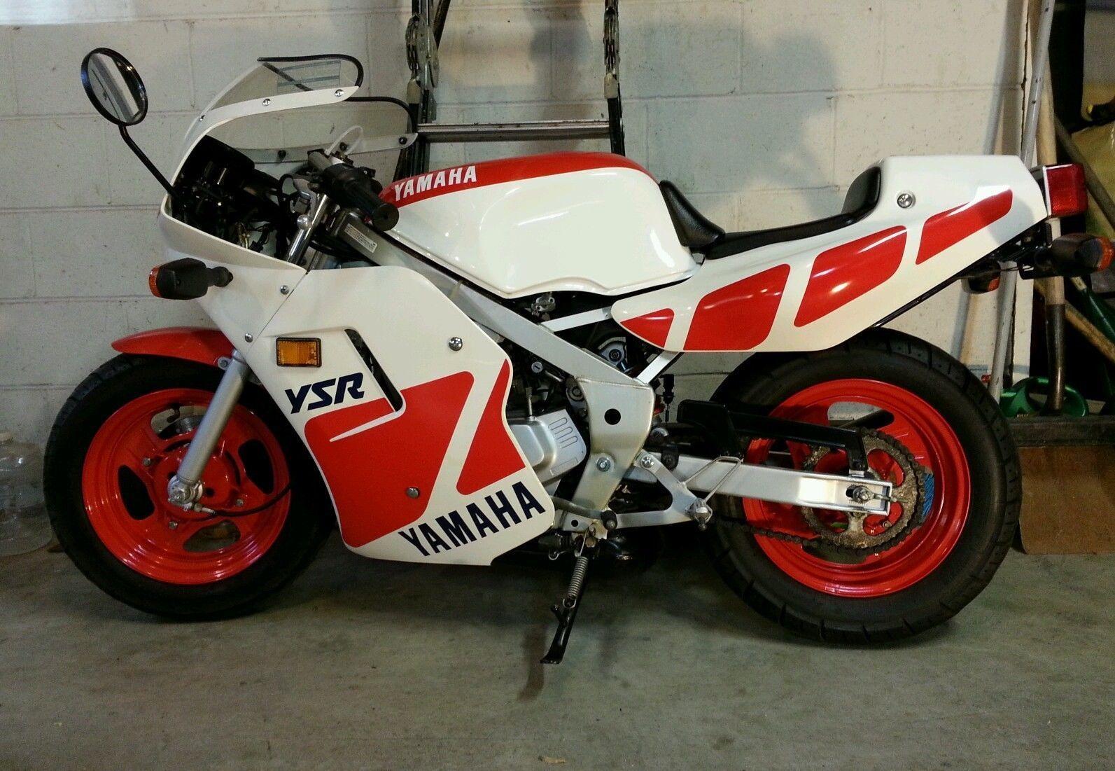 Tiny Racer 1989 Yamaha Ysr50 Bike Urious